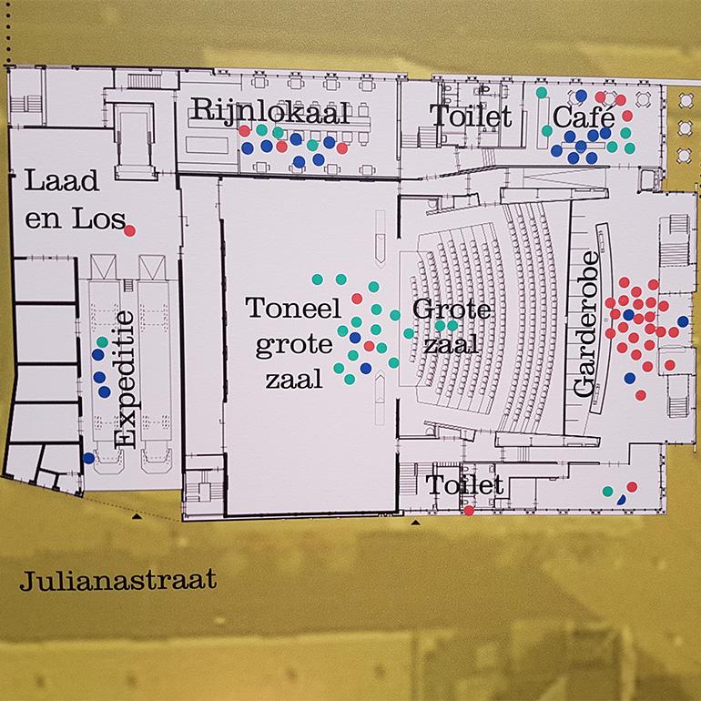 Stadsgesprek Castellum - waardering beganegrond