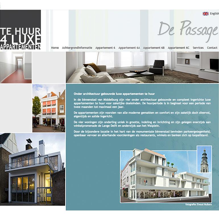 Lange Delft Middelburg - webdesign